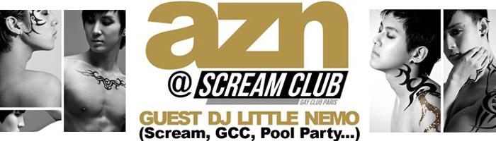 Guest DJ Little Nemo @ AZN Paris