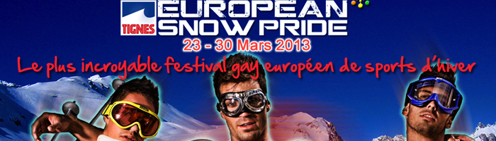 The European Snow Pride welcomes DJ Little Nemo